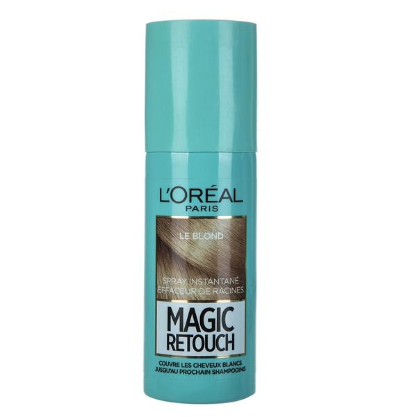 اسپری کانسیلر مو لورآل سری Magic Retouch مدل Blonde حجم 75 میلی لیتر