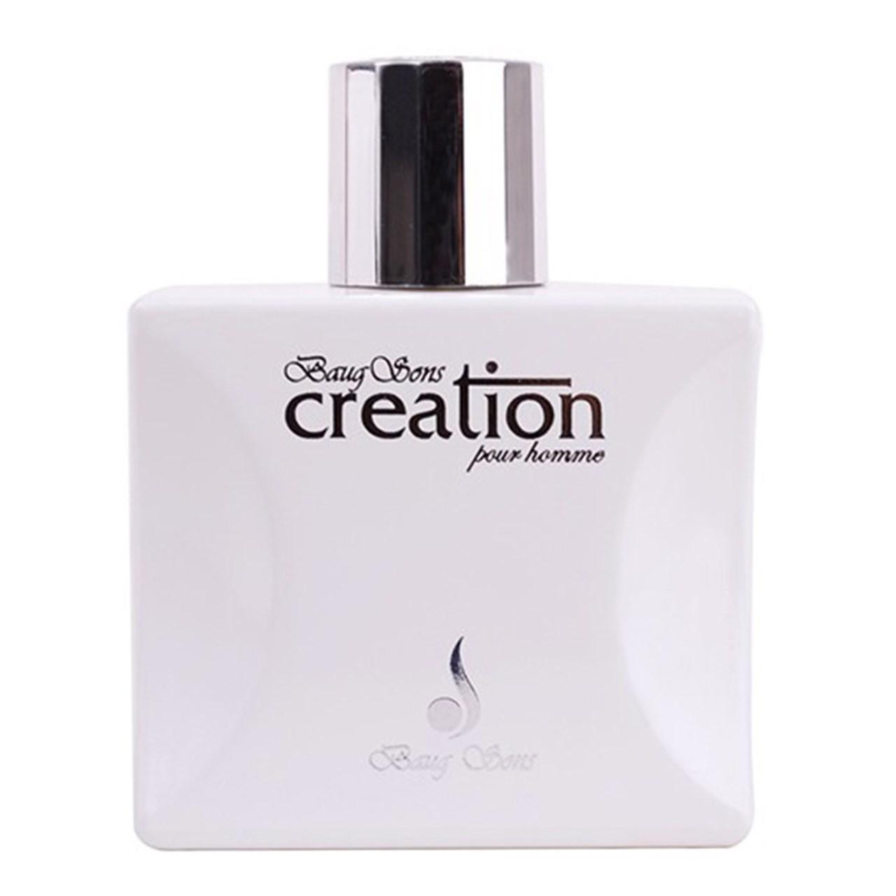 ادوتویلت بیگ سونس مدل Creation Pour Homme White حجم 100ml