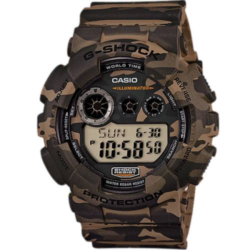 ساعت مچی دیجیتالی مردانه کاسیو جی شاک GD-120CM-5DR
