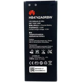 باتری موبایلمدل HB4742A0RBW با ظرفیت 2400 mAh مناسب برای گوشی موبایل هواوی 3C