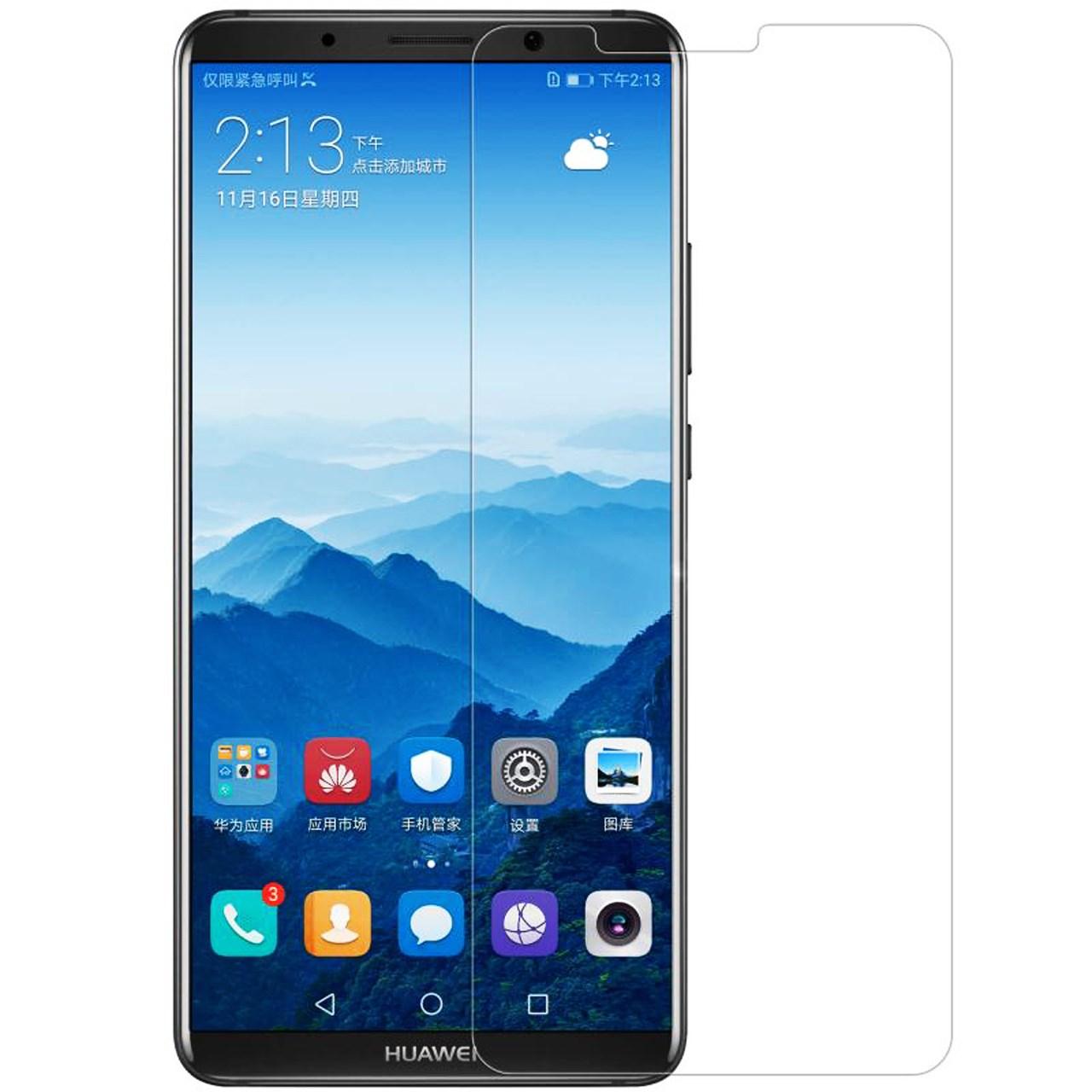 محافظ صفحه نمایش شیشه ای مدل Tempered مناسب برای گوشی موبایل هواوی Mate 10 Pro