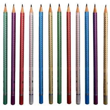 مداد مشکی اسکای SKY HB مدل نقطه بسته 12 عددی