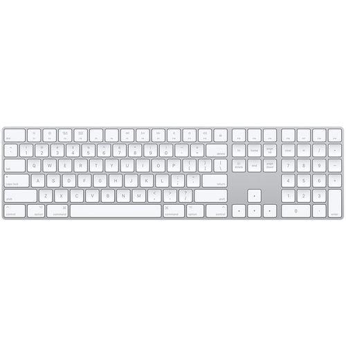 کیبورد بی سیم اپل مدل Magic Keyboard with Numeric Keypad - US English