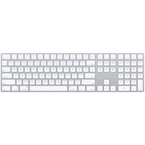 کیبورد بی سیم اپل مدل Magic Keyboard with Numeric Keypad - US English | Magic Keyboard with Numeric Keypad - US English Keyboard