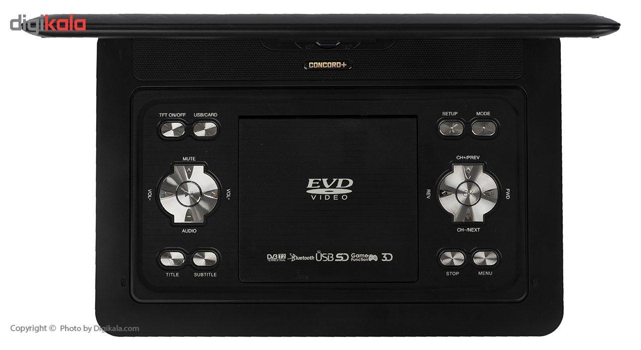 پخش کننده DVD کنکورد پلاس مدل PD-1320T2 main 1 3