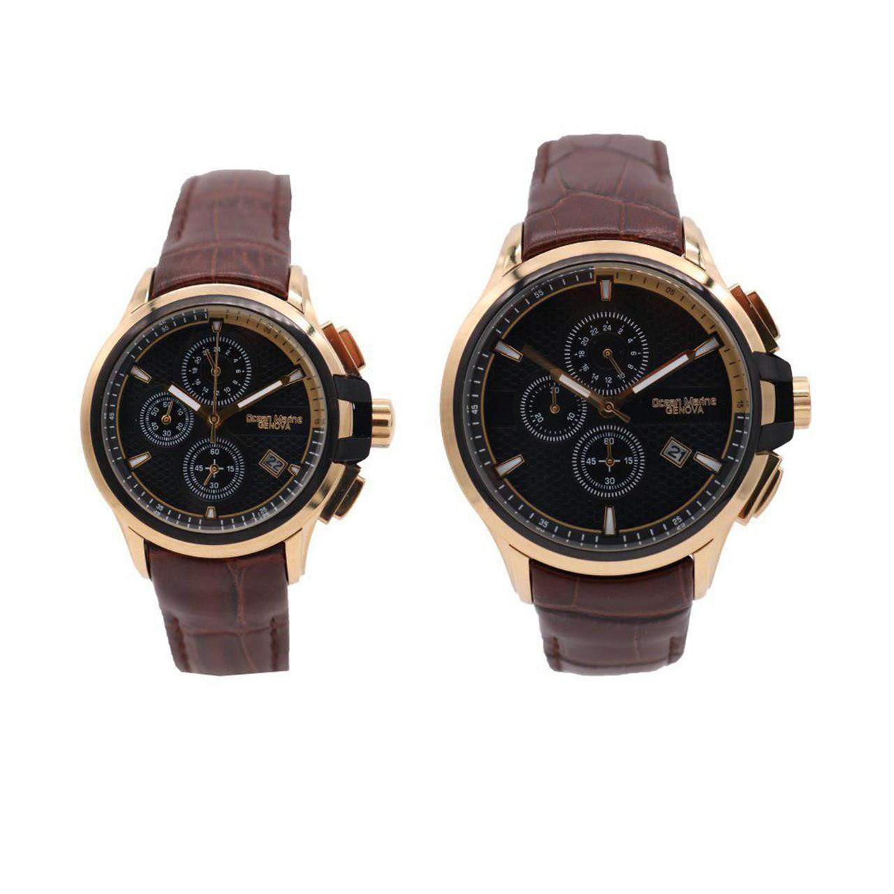 ساعت ست مردانه و زنانه اوشن مارین مدل Z-318Gb5 و Z-318Lb5