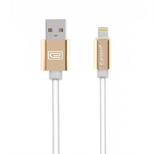 کابل تبدیل USB به لایتنینگ مغناطیسی Earldom مدل ET-MC06 به طول 1 متر
