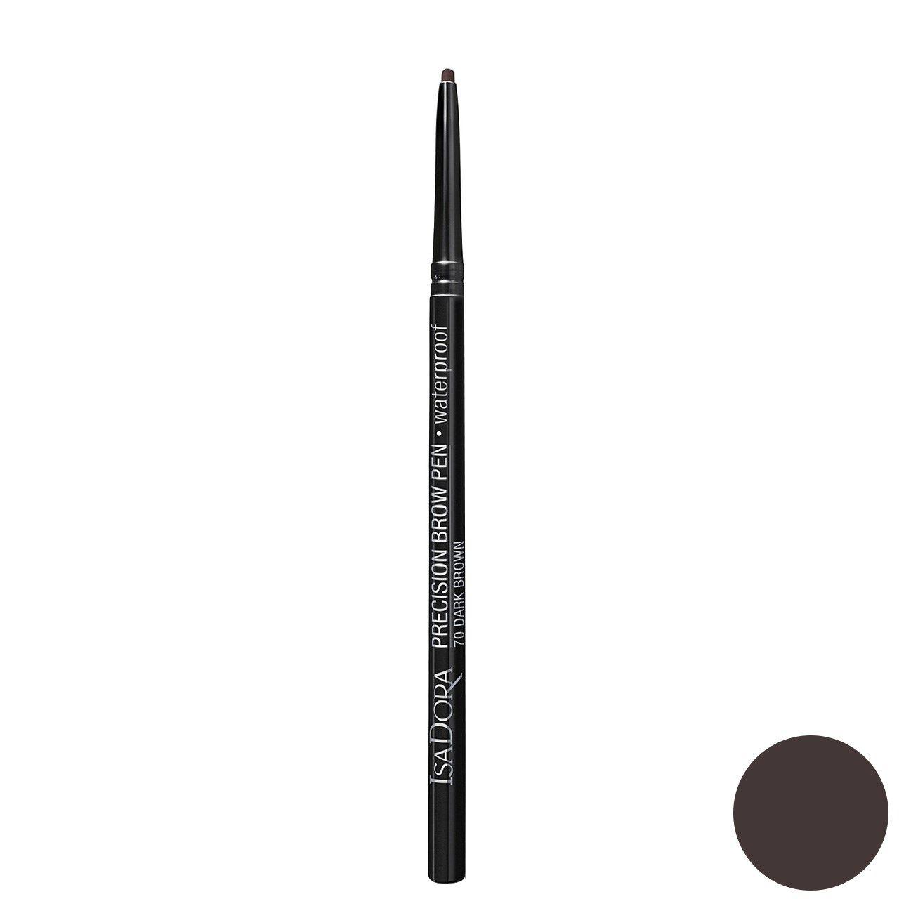 مداد ابرو ایزادورا مدل Precision Brow Pen شماره 70 -  - 1