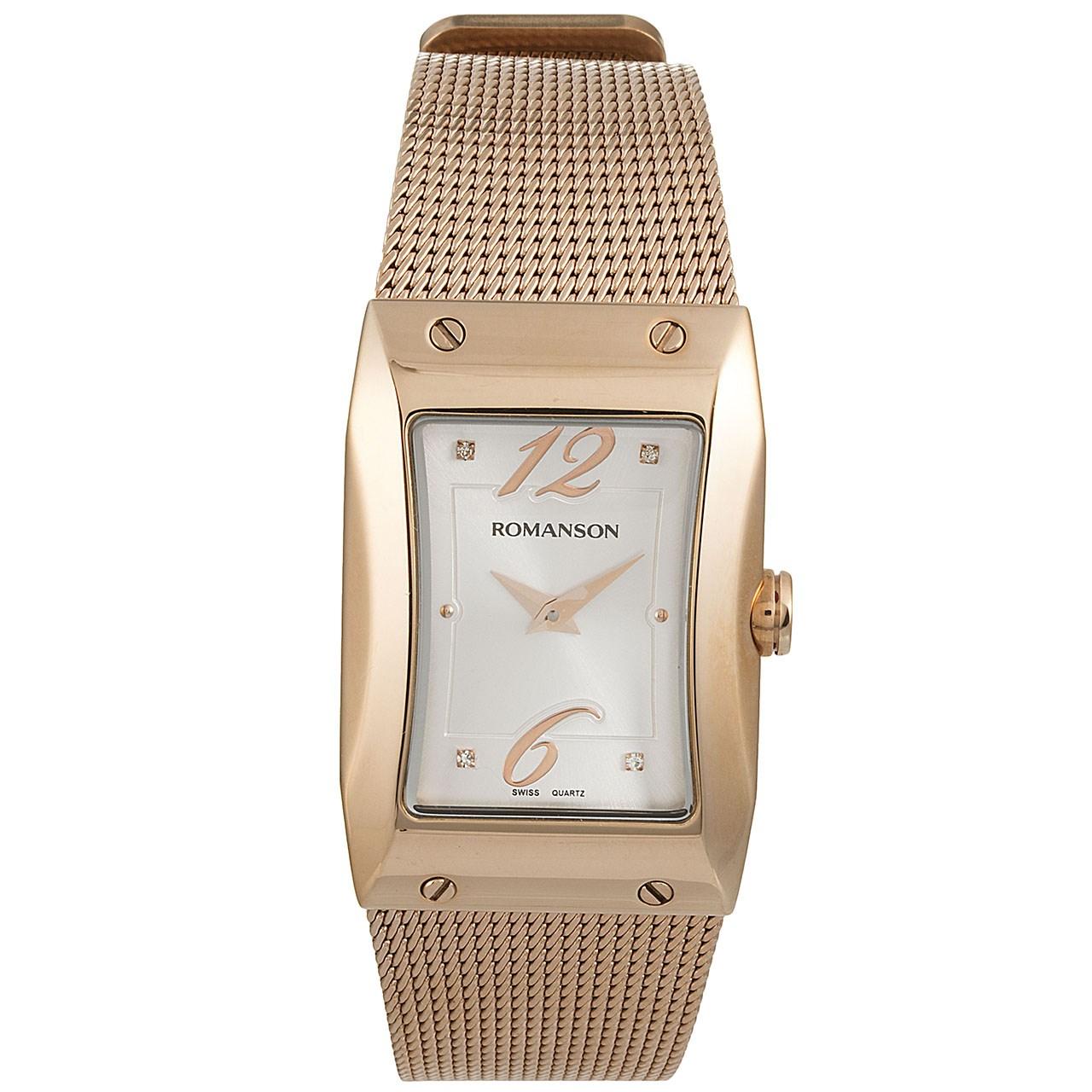 ساعت مچی عقربه ای زنانه رومانسون مدل RM0359LL1RAS6R 47