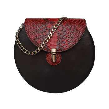 کیف دوشی زنانه چرم روژه مدل FC150A