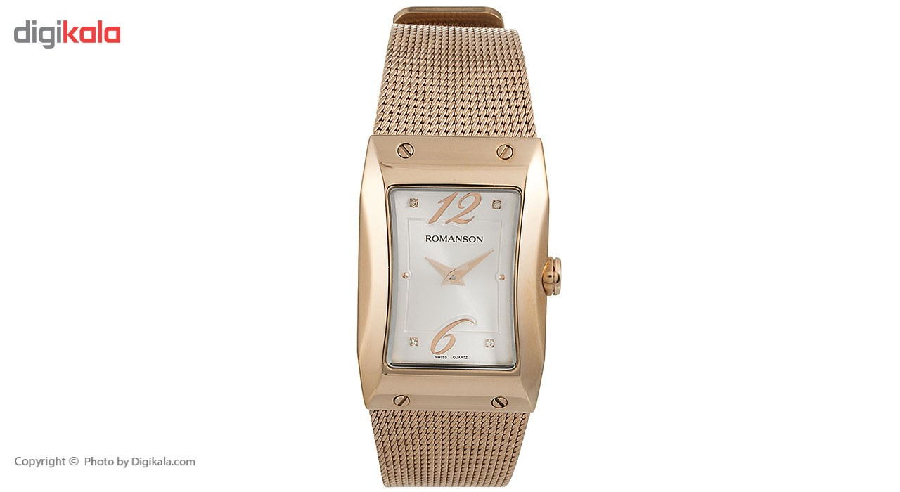 ساعت مچی عقربه ای زنانه رومانسون مدل RM0359LL1RAS6R