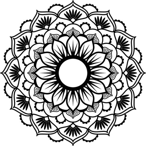 استیکر پرشین استیکر طرح Mandala Yoga 1