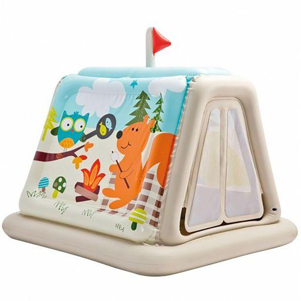 چادر بادی کودک اینتکس مدل Animal Trails