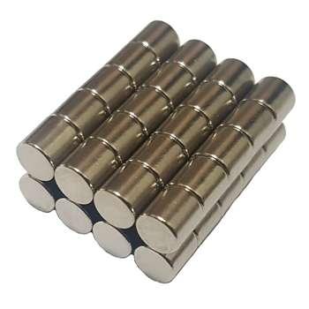 آهن ربای مدل استوانه بسته چهل عددی