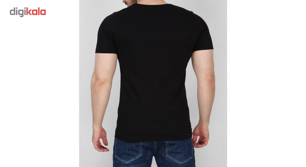زیرپوش آستین کوتاه مردانه مدلAB main 1 3