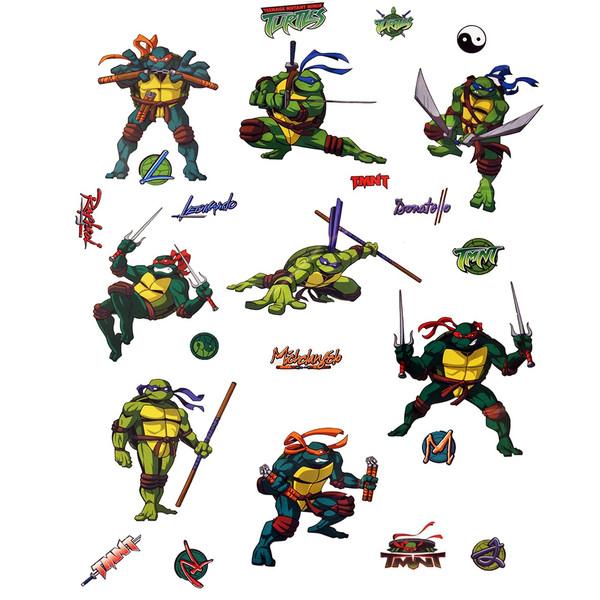 استیکر دکوفان مدل لاکپشت های نینجا