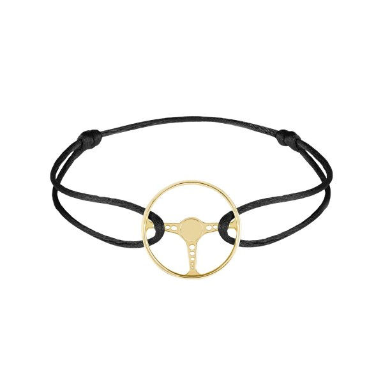 دستبند نقره مردانه مدل فرمان ماشین