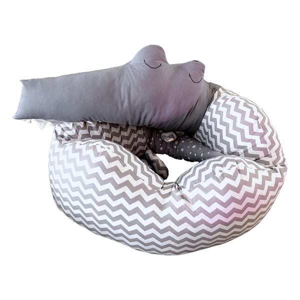 محافظ تخت کودک کابوک مدل تمساح