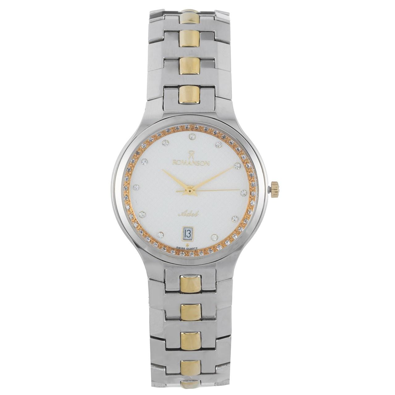 ساعت مچی عقربه ای زنانه رومانسون مدل TM1127CM1CAS1G 30