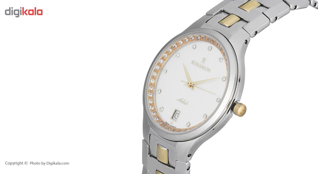 ساعت مچی عقربه ای زنانه رومانسون مدل TM1127CM1CAS1G -  - 4