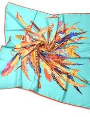 روسری ابریشم کاریان مدل R126 -  - 2