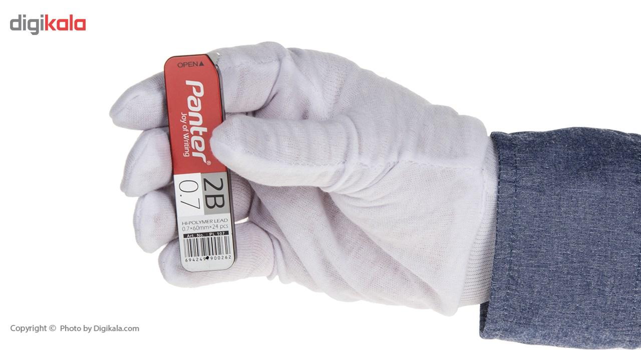 نوک مداد نوکی 0.7 میلی متری پنتر مدل Hi-Polymer بسته 2 عددی main 1 3