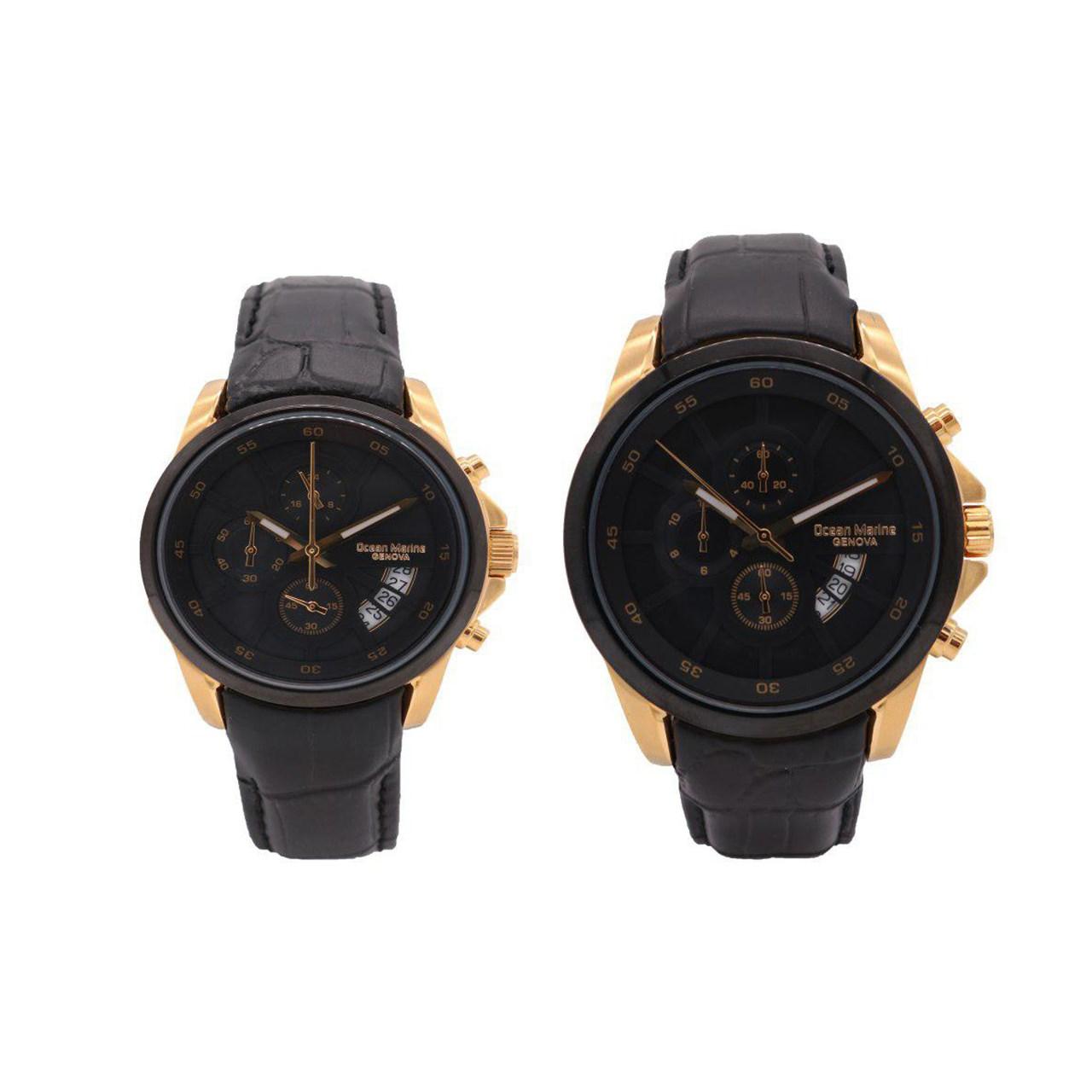 ساعت ست مردانه و زنانه اوشن مارین مدل OM-8103L-2 و OM-8103G-2