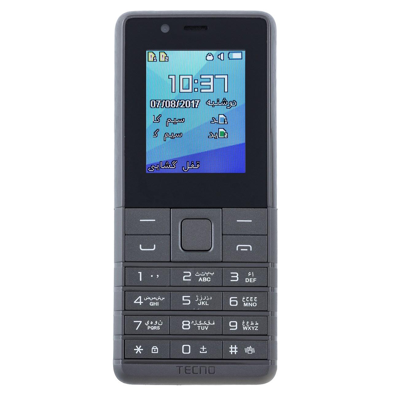 خرید                     گوشی موبایل تکنو مدل T312 دو سیم کارت