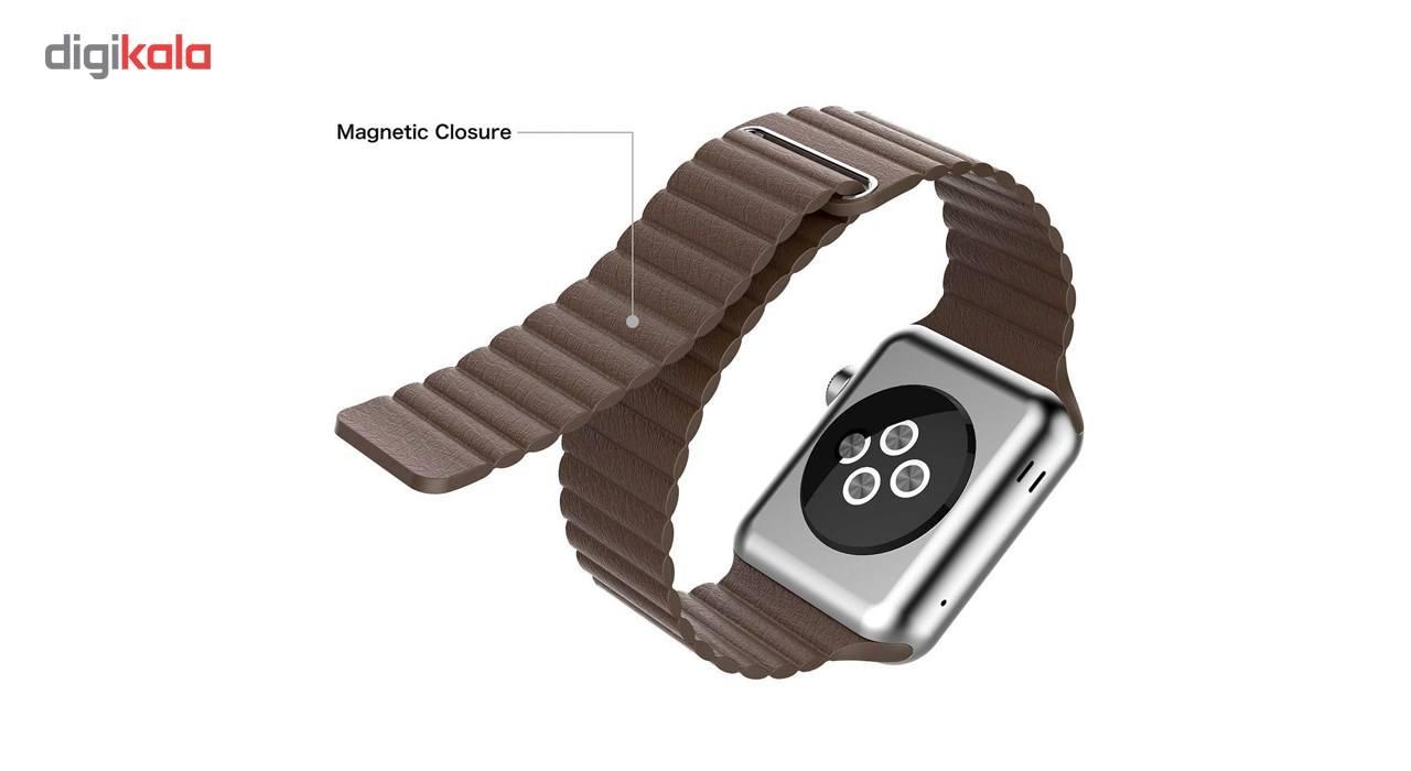 بند مدل Leather Loop مناسب برای اپل واچ 42 میلی متری main 1 1
