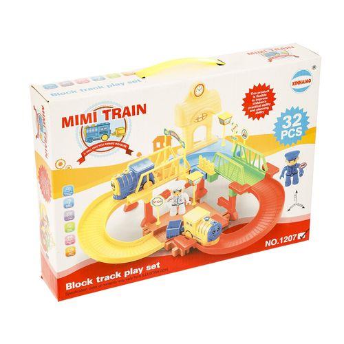 قطار اسباب بازی مدل Block Track