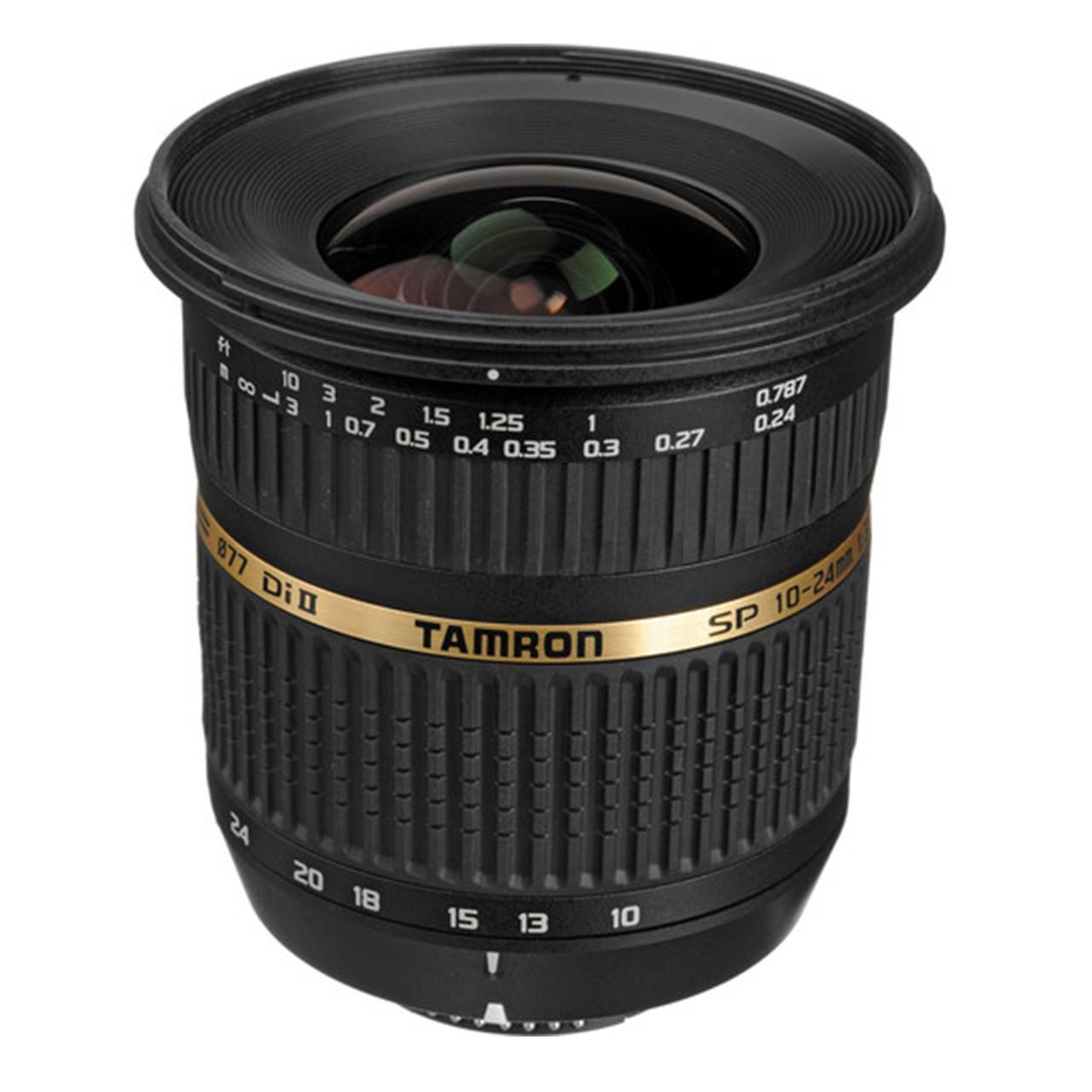 لنز تامرون مدل SP AF 10-24 mm F/3.5-4.5 Di II LD مناسب برای دوربینهای نیکون