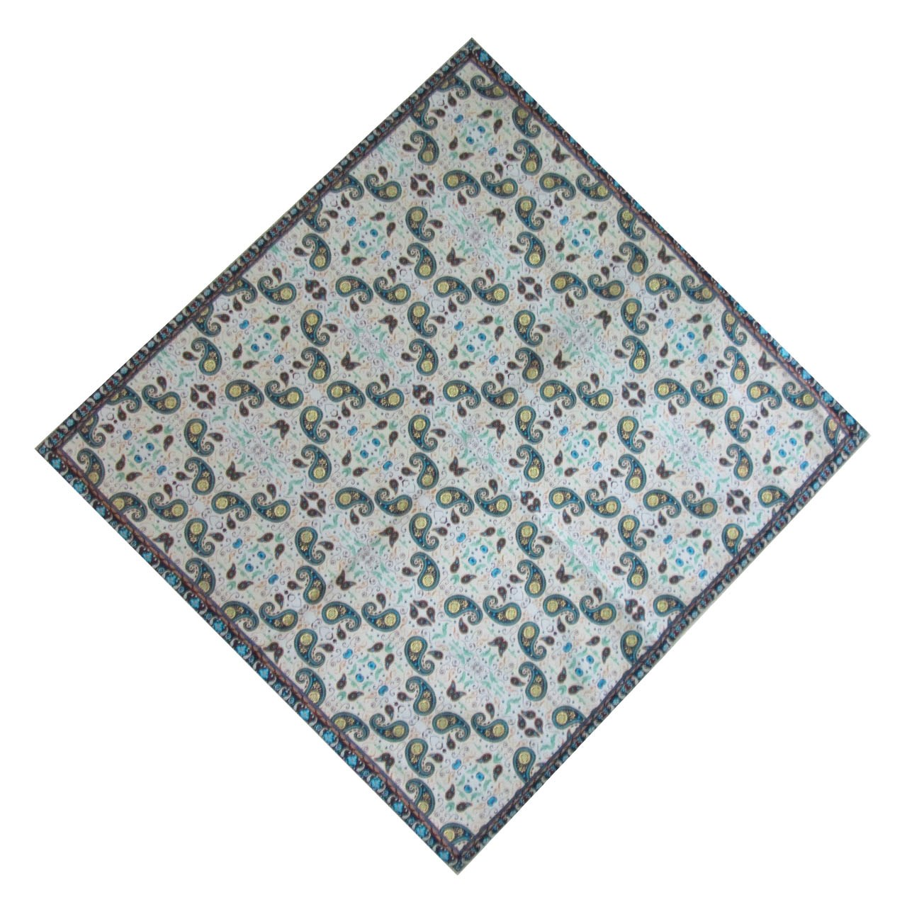 ترمه رومیزی ابریشمی کد 2031 سایز 100 × 100