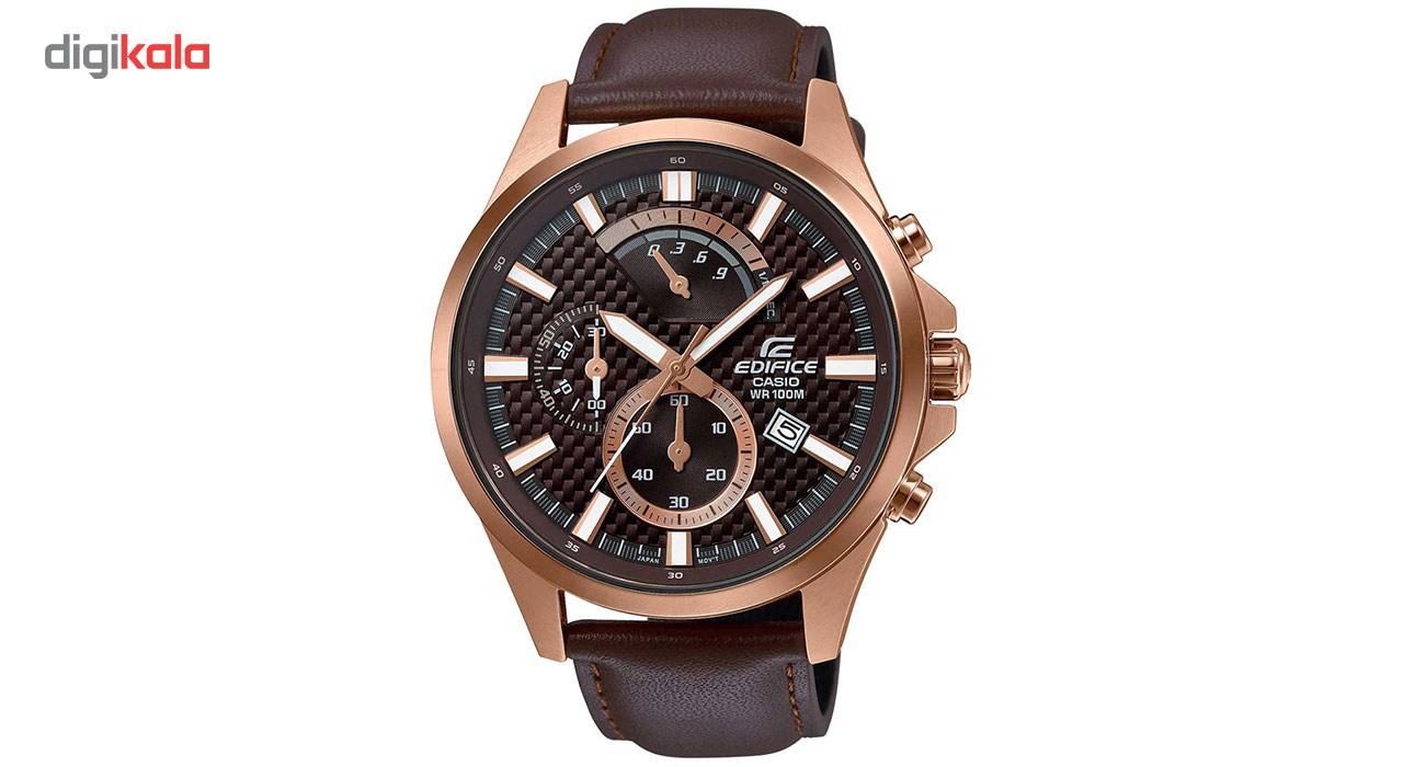 خرید ساعت مچی عقربه ای مردانه کاسیو مدل EFV-530GL-5AVUDF