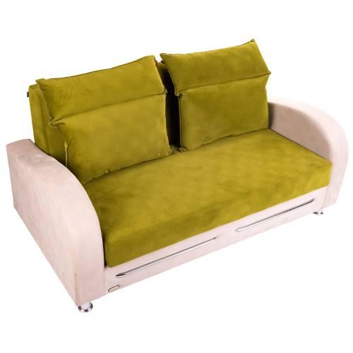 کاناپه تخت خواب شو سه نفره سانلی مدل آنیوس