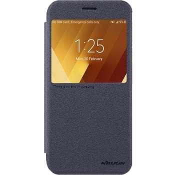 کیف کلاسوری نیلکین مدل New Leather Sparkle مناسب برای گوشی موبایل سامسونگ گلکسیA3 2017