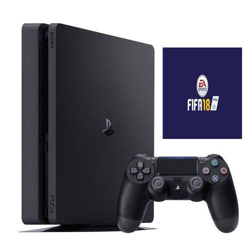 مجموعه کنسول بازی سونی مدل Playstation 4 Slim کد Region 2 CUH-2116A - ظرفیت 500 گیگابایت