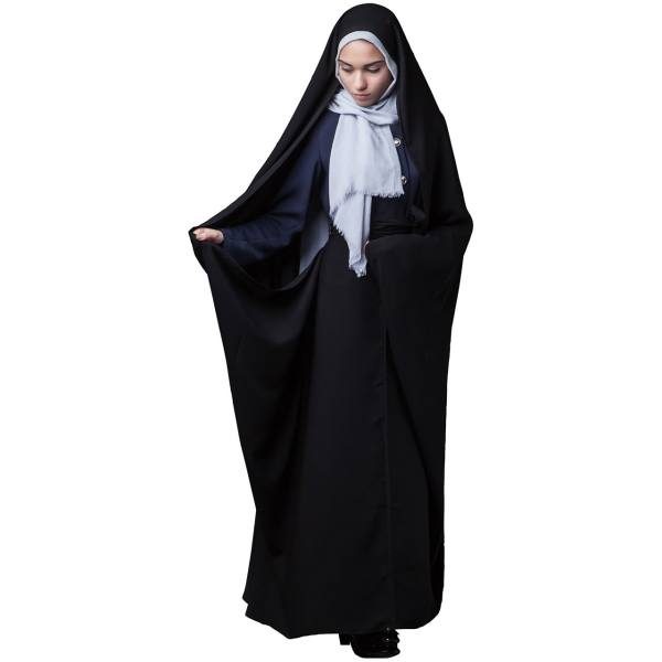 چادر حسنا کرپ کن کن حجاب فاطمی مدل 201073
