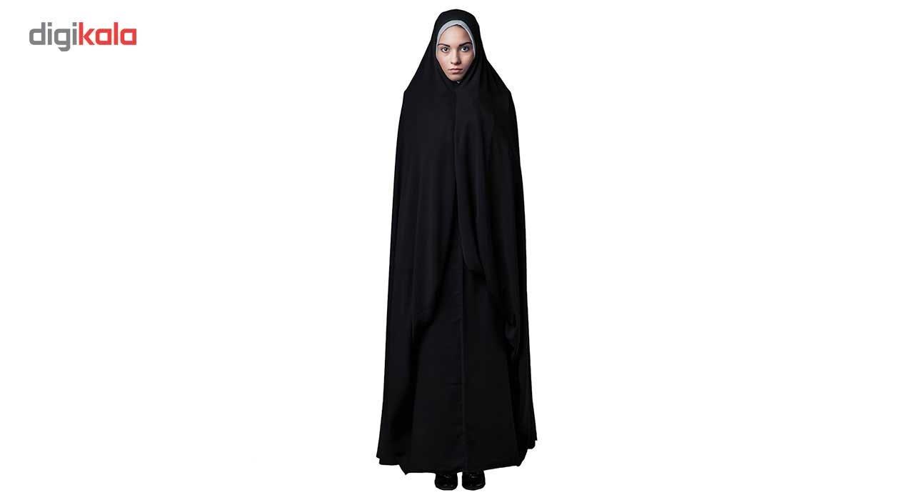 چادر حسنا کرپ کن کن حجاب فاطمی مدل 201073kn