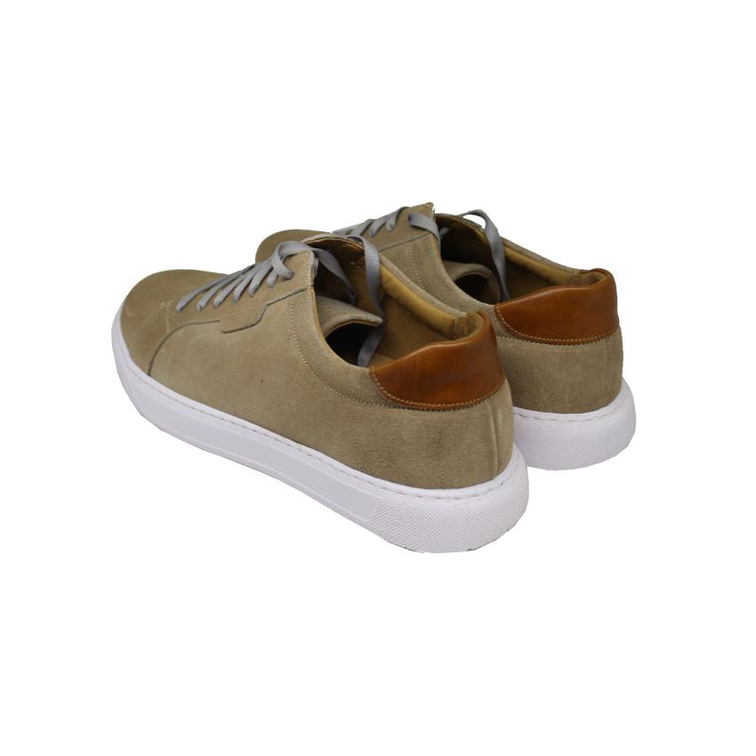 خرید                                     کفش روزمره مردانه چرم آرا مدل sh018 کد k