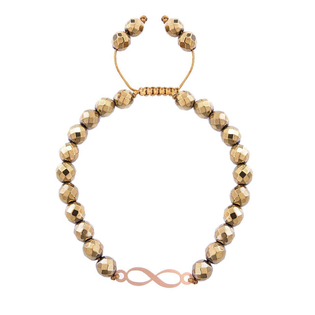قیمت دستبند طلا 18 عیار مرجان مدل 0747