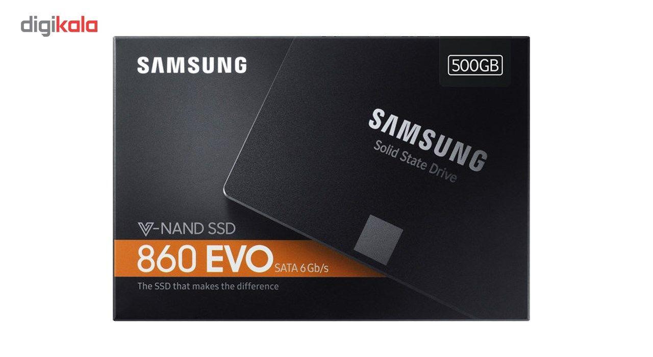 اس اس دی اینترنال سامسونگ مدل 860 Evo ظرفیت 500 گیگابایت main 1 3