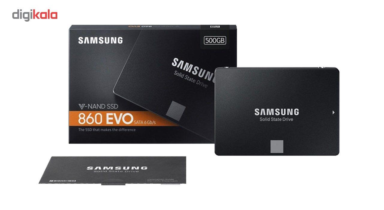 اس اس دی اینترنال سامسونگ مدل 860 Evo ظرفیت 500 گیگابایت main 1 5
