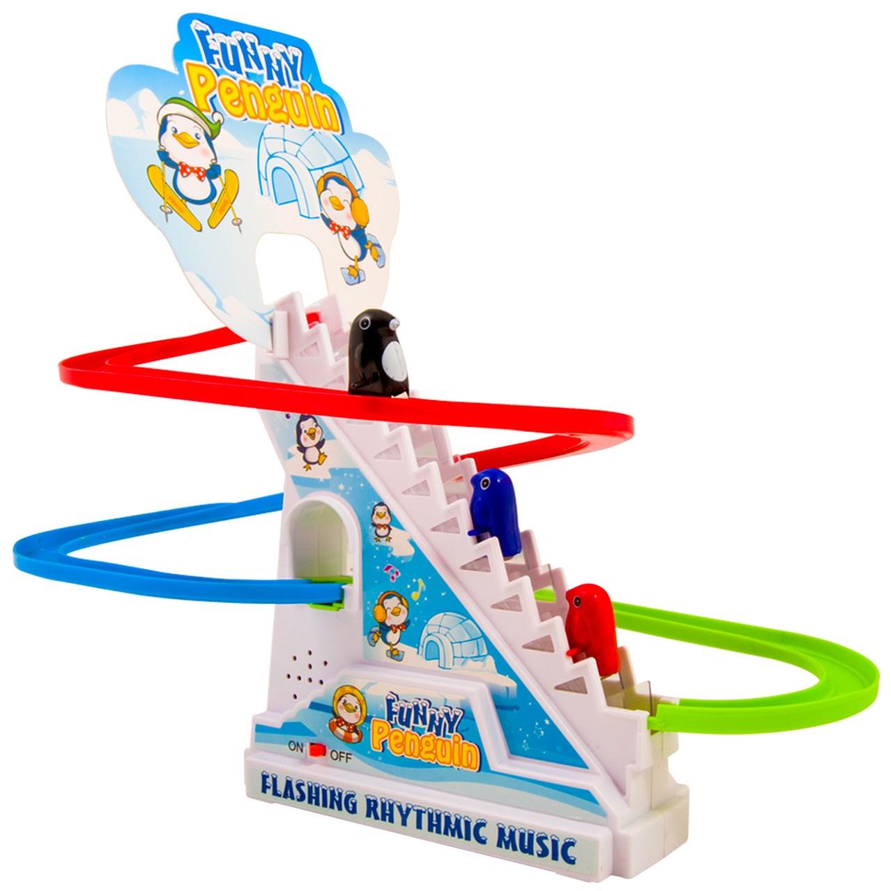 اسباب بازی پله برقی پنگوئن مدلFunny Penguin