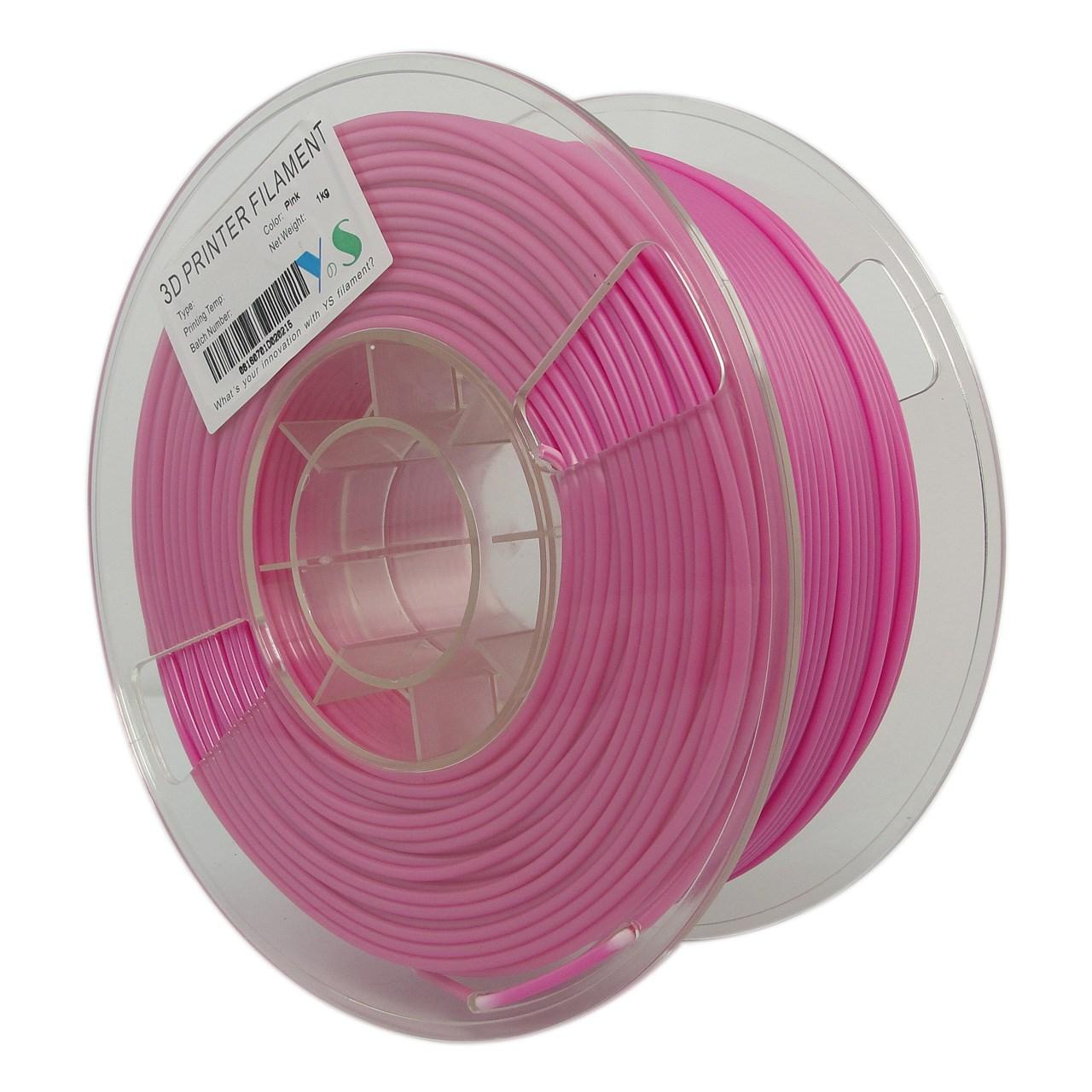 فیلامنت پرینتر سه بعدی PLA  یوسو صورتی  1.75 میلیمتر   1 کیلو