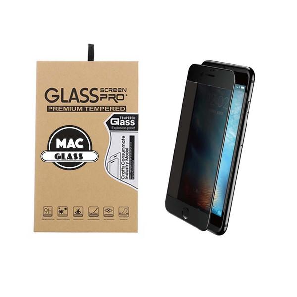 محافظ صفحه نمایش شیشه ای مک گلس مدل 3D Privacy مناسب برای گوشی آیفون 7 و 8