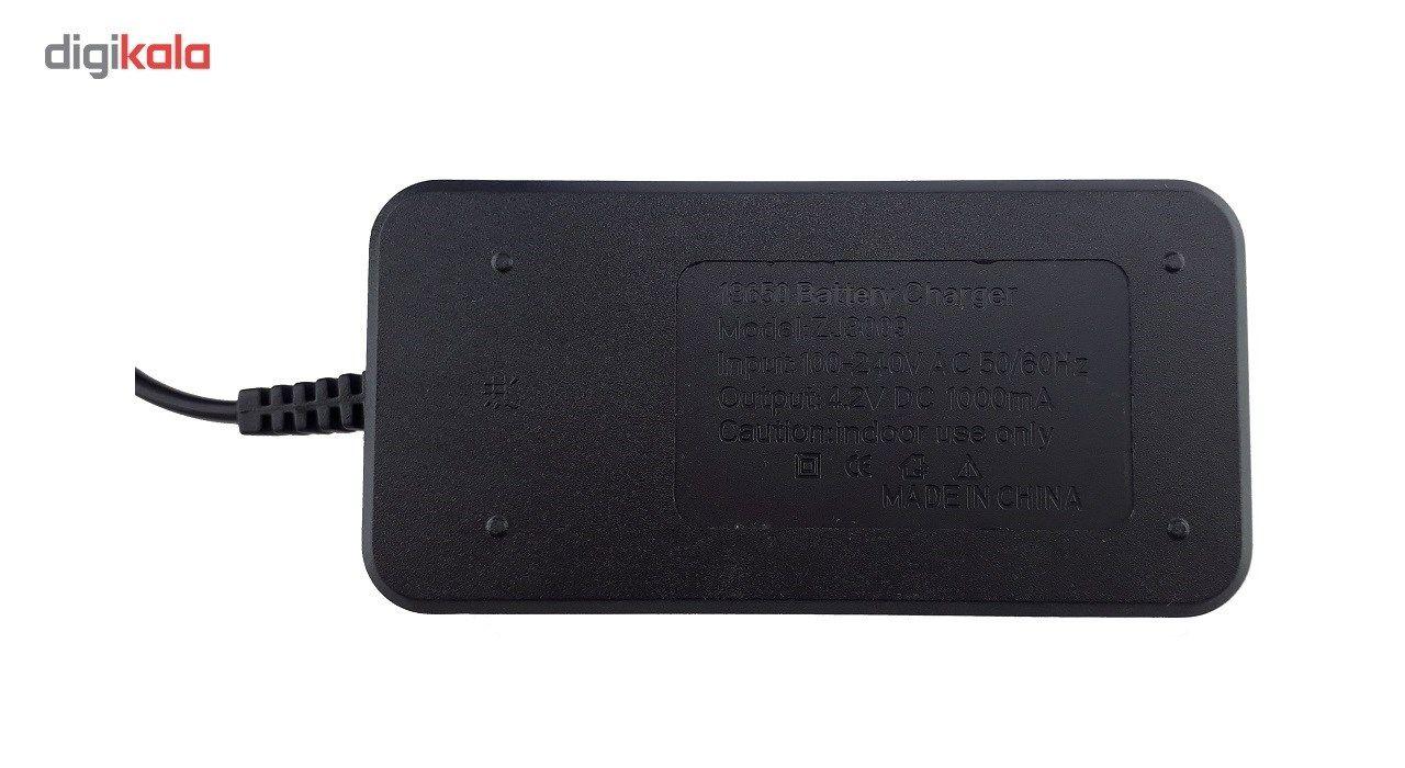 شارژر اتوماتیک باتری 18650 مدلZJ-3009 main 1 2