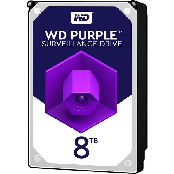 هارددیسک اینترنال وسترن دیجیتال مدل Purple WD80PURZ ظرفیت 8 ترابایت