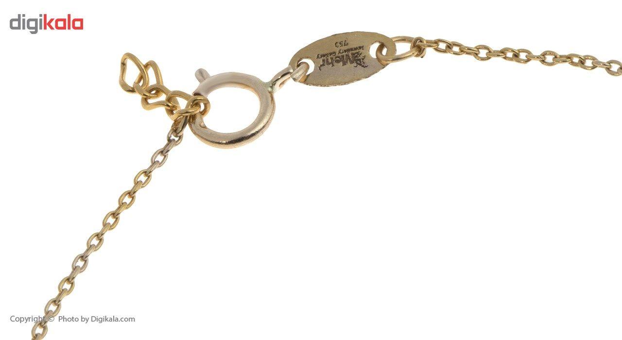 دستبند طلا 18 عیار ماهک مدل MB0390 - مایا ماهک -  - 1