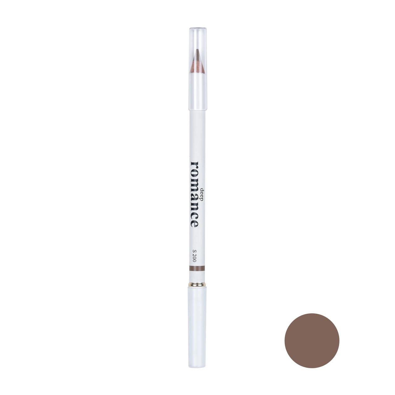 مداد ابرو دیپ رومانس مدل DR-07 شماره 200