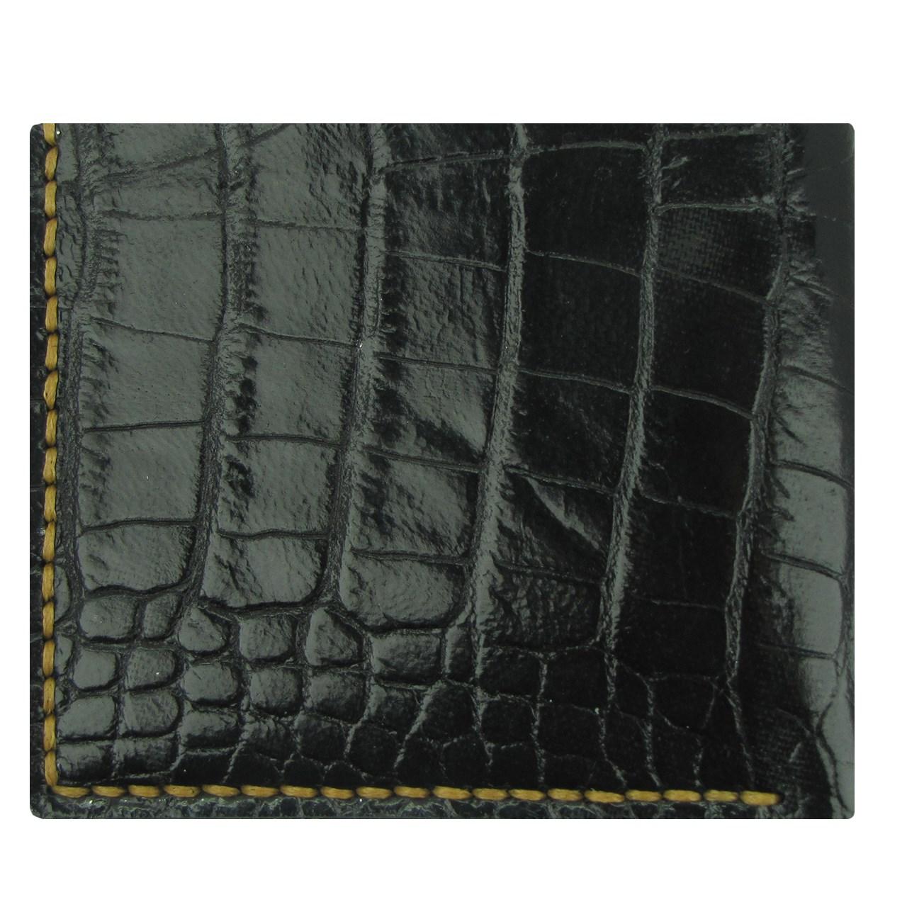 کیف پول چرم طبیعی ای دی گالری مدل G5